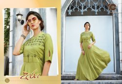 Zeba Party Wear Kurti