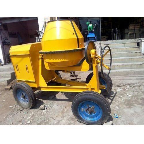 Concrete Mixer Machine - Concrete Hand Feed Mixer Machine