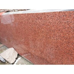 Red Polished Imperial Pink Granite Slab, Thickness: 16 mm