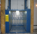 Hydraulic Goods Lift, Capacity: 100 To 5000 Kg