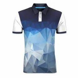 S-XXL Mens Collar Fashion T-Shirt, Packaging Type: Packet
