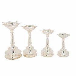 Silver Samai Lamp