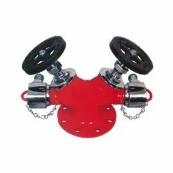 Double Outlet Type Landing Valve (Stainless Steel)