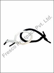 White and Black Standard Rope Handles with Tipping