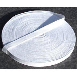 Aum International Plain White Cotton Tapes for Packaging
