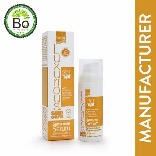 Organic Sunscreen Lotion