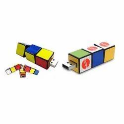 Rubik Cube Twist Pen Drive