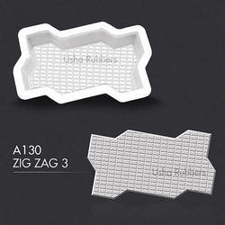 A130 Usha Zigzag Mould