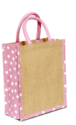 Rope Handle Jute Bag