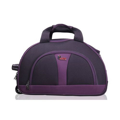 0d2e7b12362e F Gear Cooter 20 Inch Polyester 46 Ltrs Purple Travel Duffle
