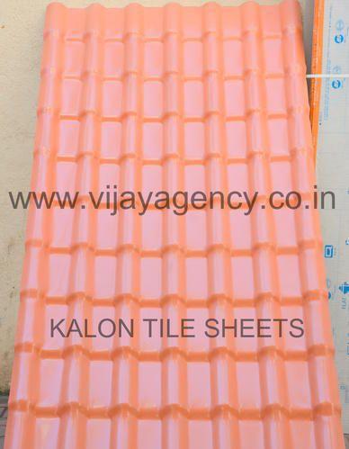 Upvc Kalon Pvc Tile Roof Sheets Rs 52 Square Feet Vijay