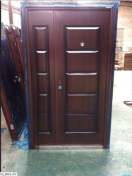 Brown Bathroom Doors