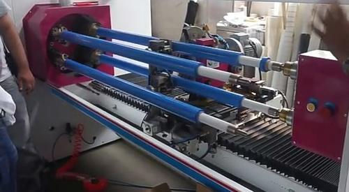 Shaft Slicer Machine - Masking Tape Slicer Machine