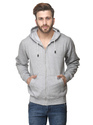 Sweat Shirt With Zip And Hood