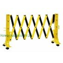 Expandable Barrier With Wheels