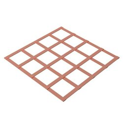 Earth Plate-Lattice Copper