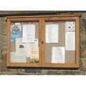 Shutter Notice Board