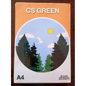 White Cs Green A4 Size Copier Paper