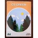 White Cs Green A4 Size Copier Paper