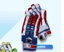 Bazooka Velcro Sniper Cricket Batting Gloves