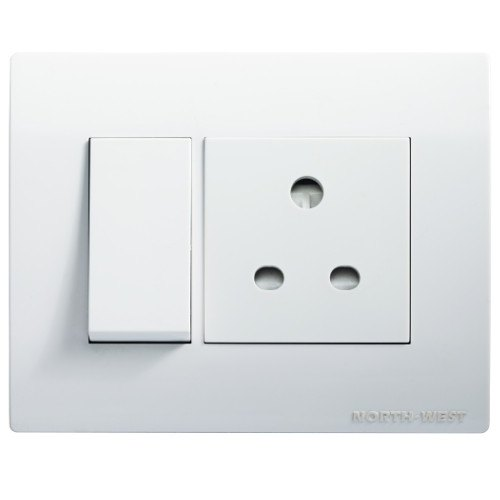 6a,16a 1 Way,2 Way Wipro North West Stylus Plus Premium Modular Switches, Switch Size: 1 Module