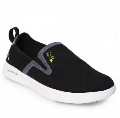 Campus LS-202-BLK-DGRY Style Walk Shoes