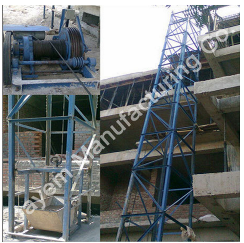 Builder Hoist Capacity 0 1 Ton Speed 38 M Min Id
