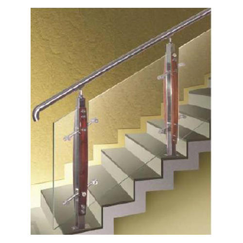 Standard Stainless Steel Stair Baer Rs 1200 Piece