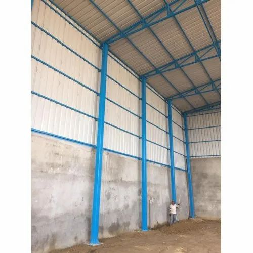 MS Factory Sheds Fabrication Services