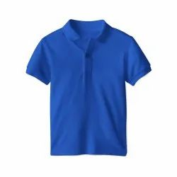 Plain Cotton Polo T Shirt