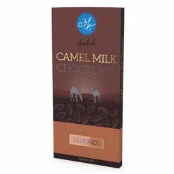 Camel Milk Chocolate - Almonds 50g
