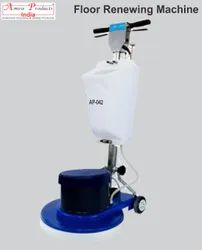Floor Scrubber and Polisher Machine