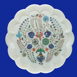 High Quality Inlay Marble Plate
