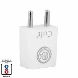 2.4 Amp Fast Charging USB White Charger
