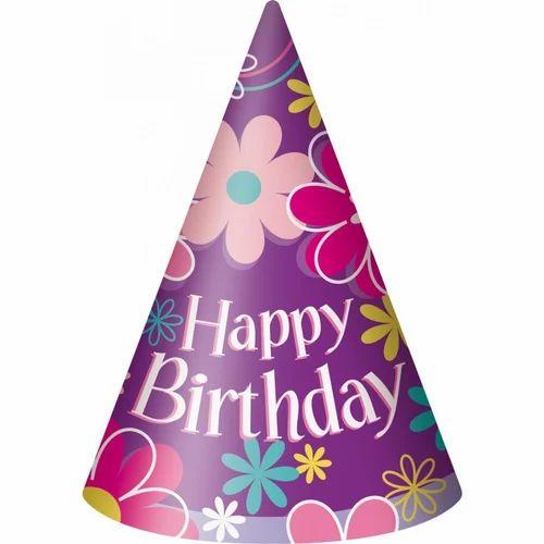 Printed Birthday Cap At Rs 1 Piece Birthday Cap Vijay