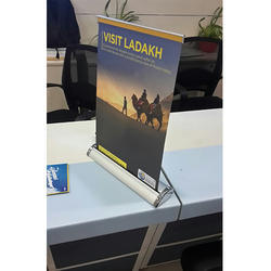 Aluminum Table Standee