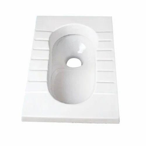 White Indian Toilet Seat Rs 1500 Piece Deva Enterprises