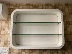 Backlit Salon Shelf