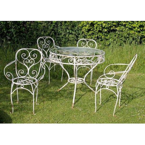 Wrought Iron Garden Chair Set