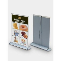 Table Roll Up Standee, For Banner Stand, Inside Store