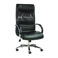 NF-105 SS Leg High Back Executive Chair