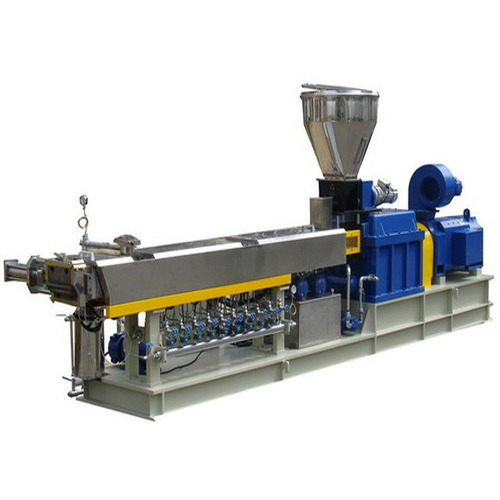 Twin Screw Barrel Machine