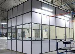 Aluminium Partition Work