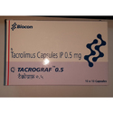 Tacrograf-0.5 (Tacrolimus Capsules Ip0.5 Mg)