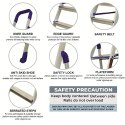 Parasnath Home Pro 4 Steps Light Weight Aluminium Heavy Duty Folding Ladder