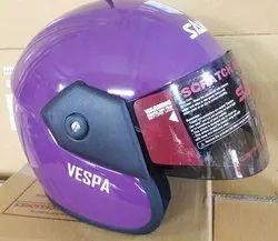 Vespa Open Face Helmet 24 Colors