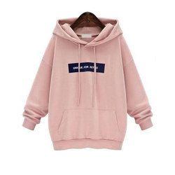733849ebf Medium And Large Pink Designer Hoodie, Rs 425 /piece, Valki Exports ...