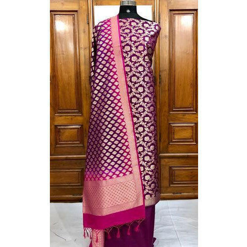 1b04d1936b Ladies Party Wear Banarasi Silk Suit, Rs 3500 /piece, Mumtaz Sons ...