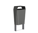 Haito Stainless Steel Dustbins