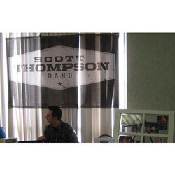 Processed Cloth Fabric Banner